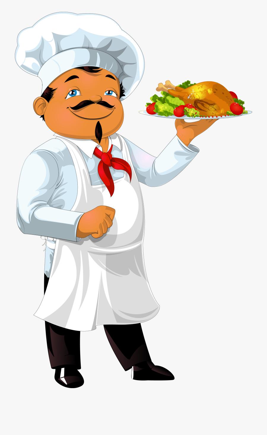 Indian Restaurants In Bangkok Cook - Imagen De Un Chef Animado, Transparent Clipart
