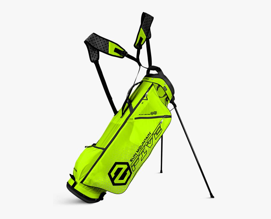 5 Lime Black - Orange Sun Mountain Golf Bag, Transparent Clipart