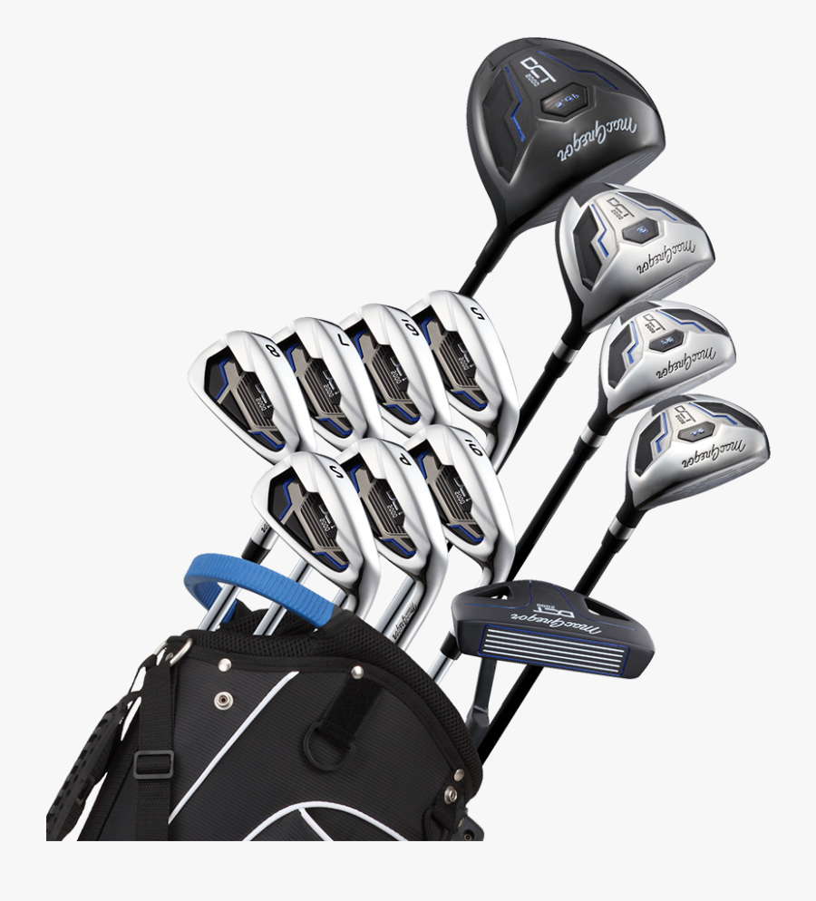 Golf Bags With Clubs, Transparent Clipart