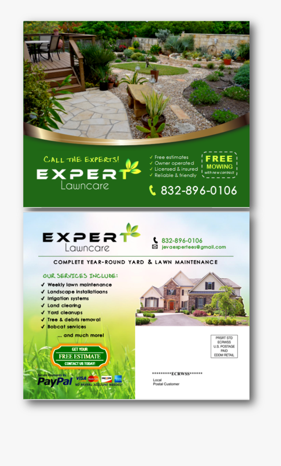 Clip Art Lawn Care Flyer Examples Southwest Style Landscaping