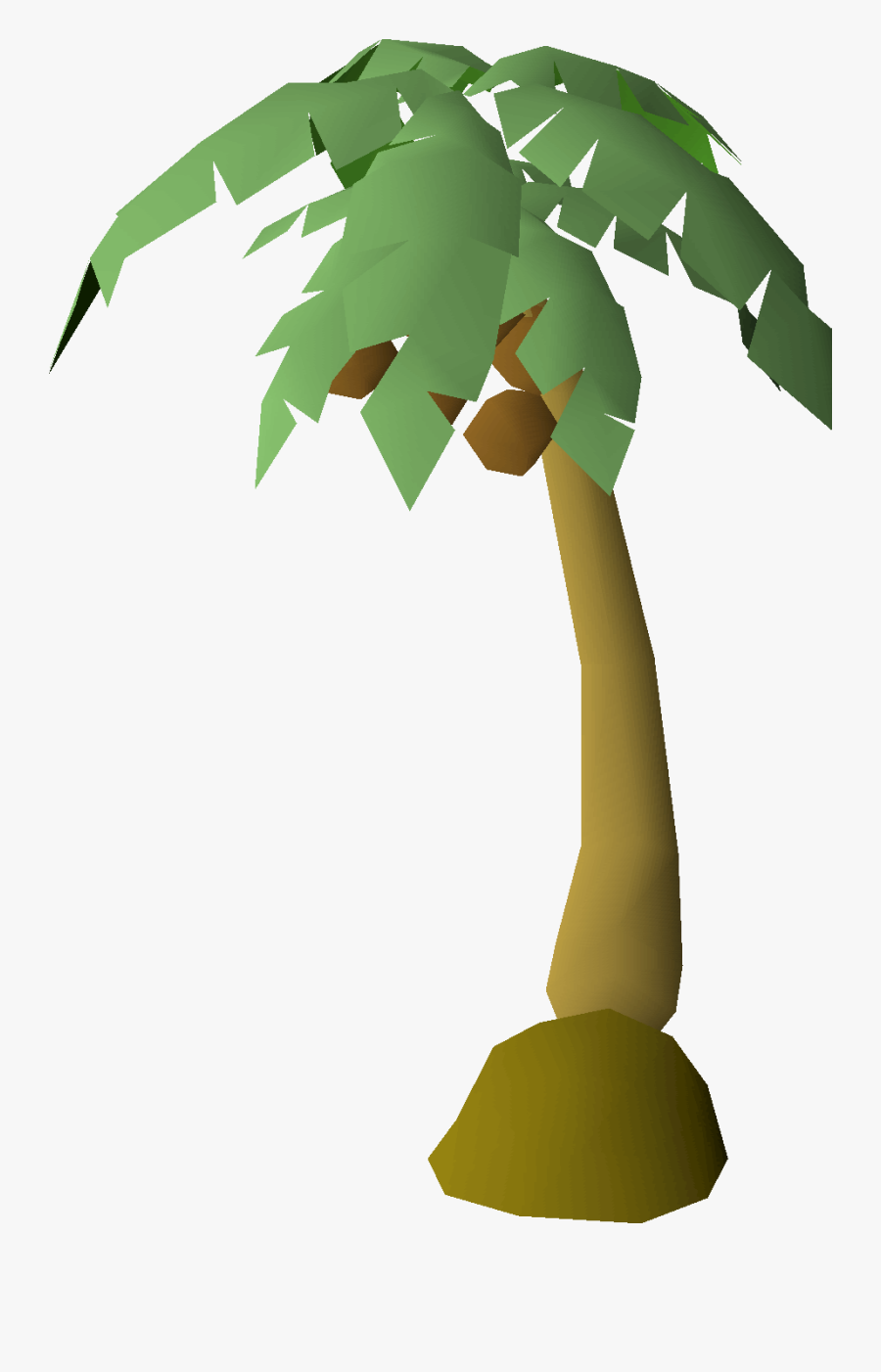 Runescape Palm Tree, Transparent Clipart