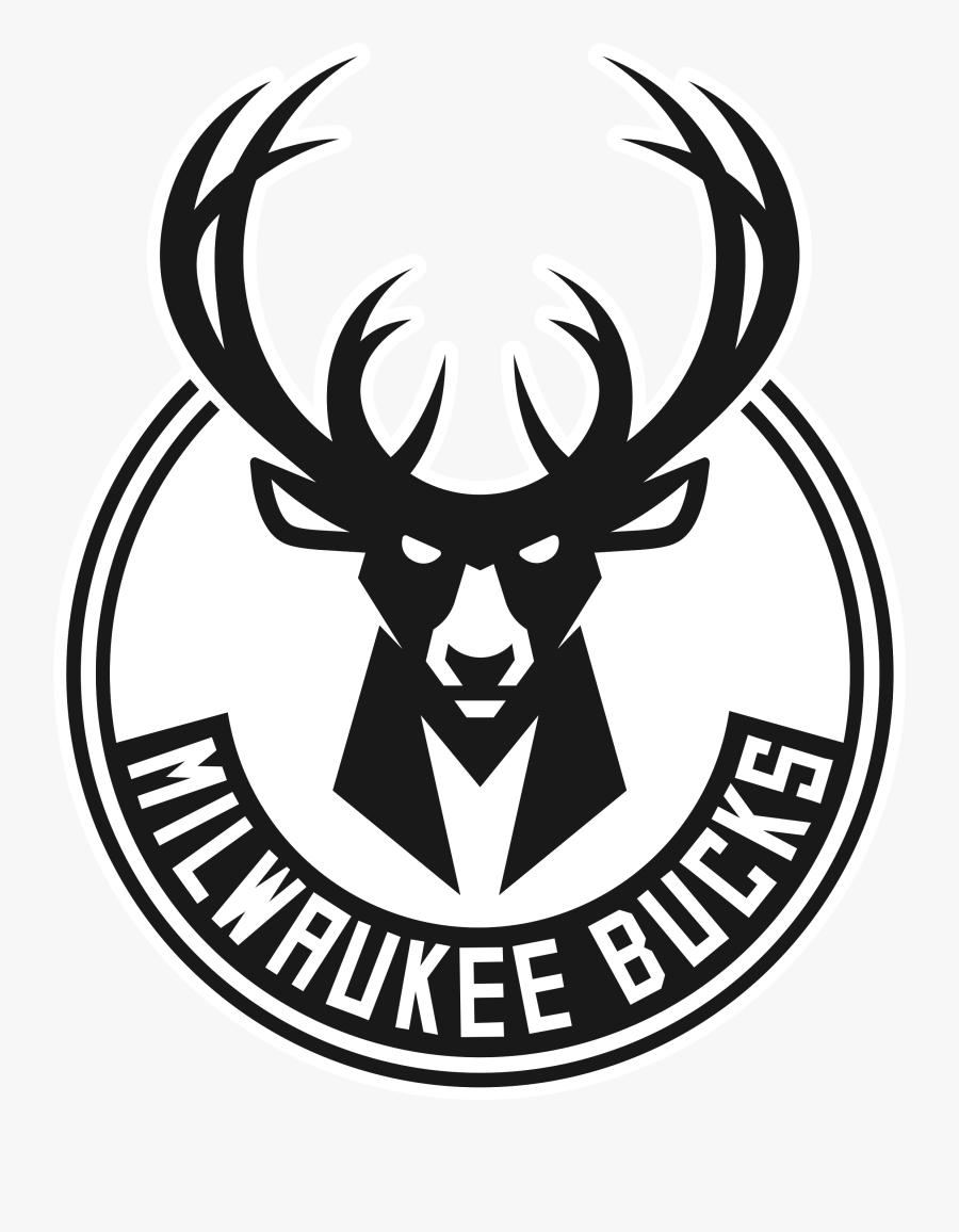Buck Drawing Logo - Milwaukee Bucks Team Logo, Transparent Clipart