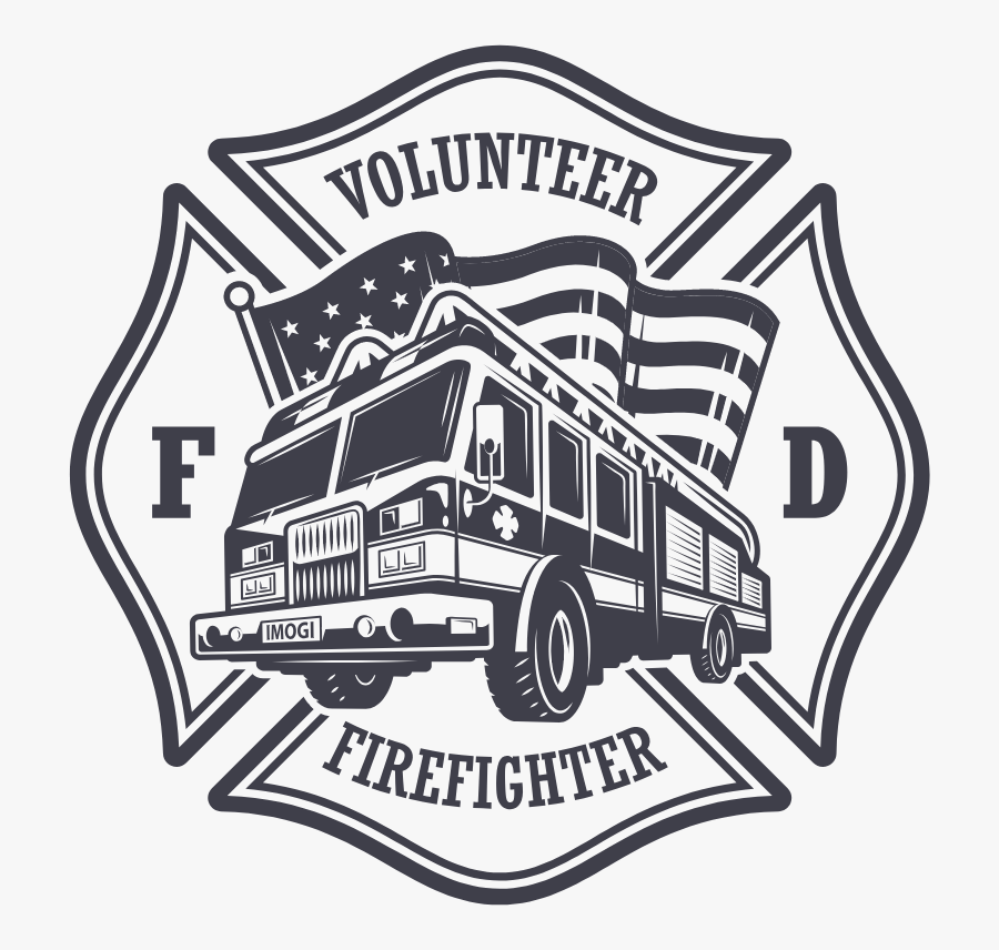 Firefighter Vector Art, Transparent Clipart