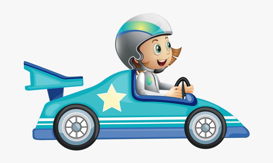 Kart Racing Go Royalty - Race Car Driver Clipart, Transparent Clipart