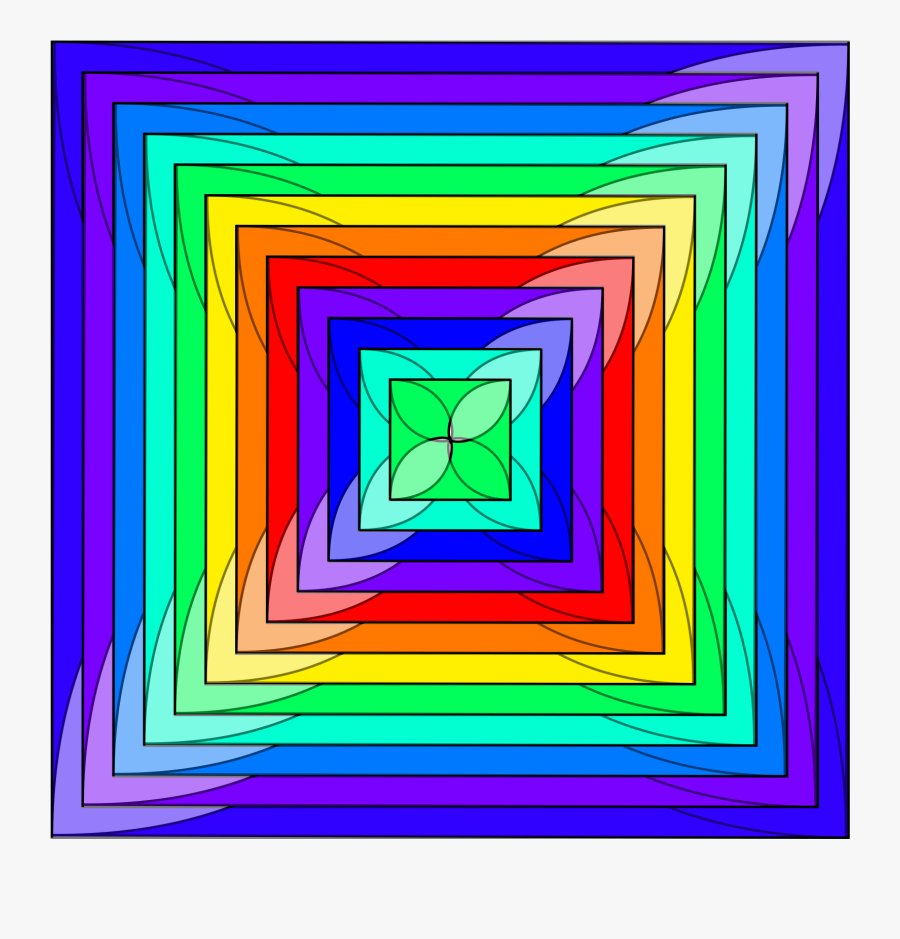 Computer Icons Drawing Rainbow Line - Illustration, Transparent Clipart