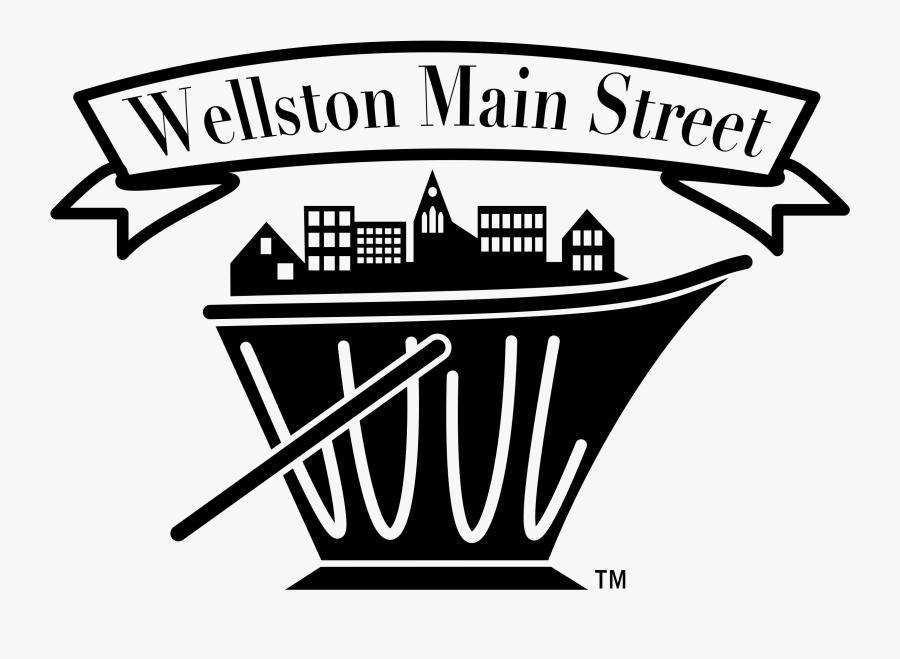 Wellston Main Street, Transparent Clipart
