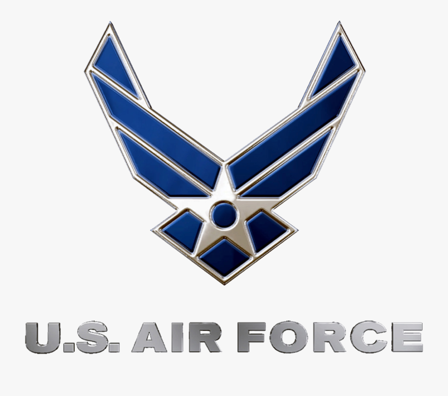 Clip Art United States Wikipedia Us - Us Air Force Logo Png, Transparent Clipart