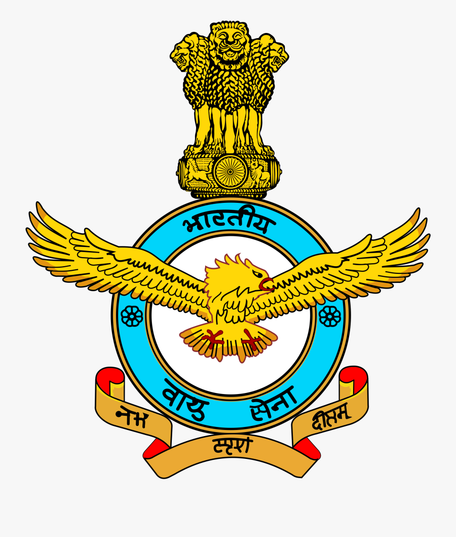 Logo Indian Air Force, Transparent Clipart