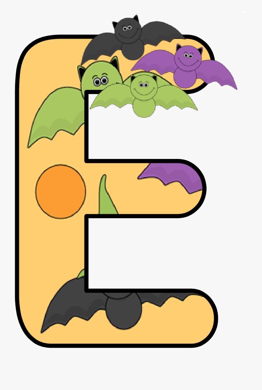 Letters Clipart Halloween - Halloween Clipart Letter E, Transparent Clipart