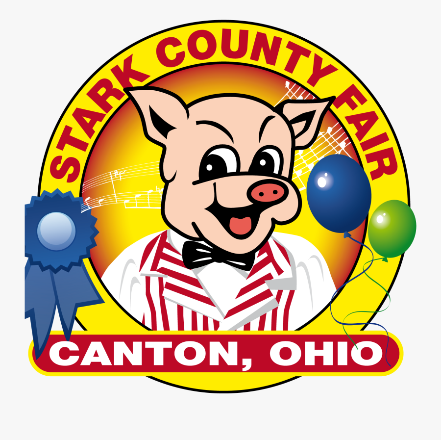 Stark County Fair Logo, Transparent Clipart