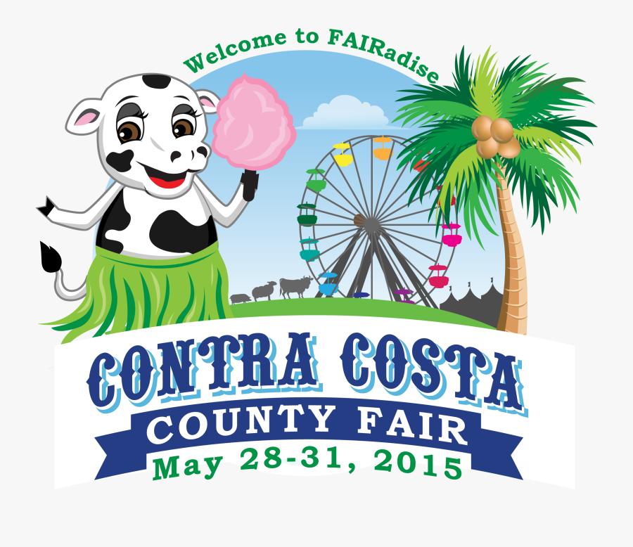 County Fair Banner, Transparent Clipart