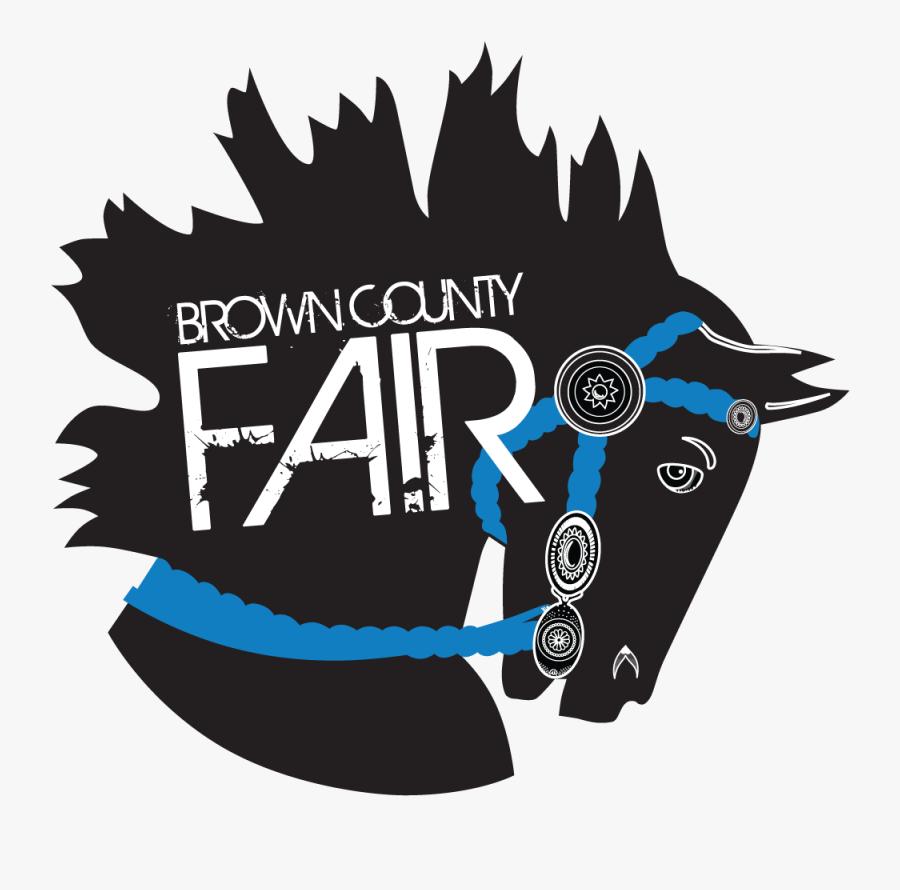 Brown County Fair Logo, Transparent Clipart