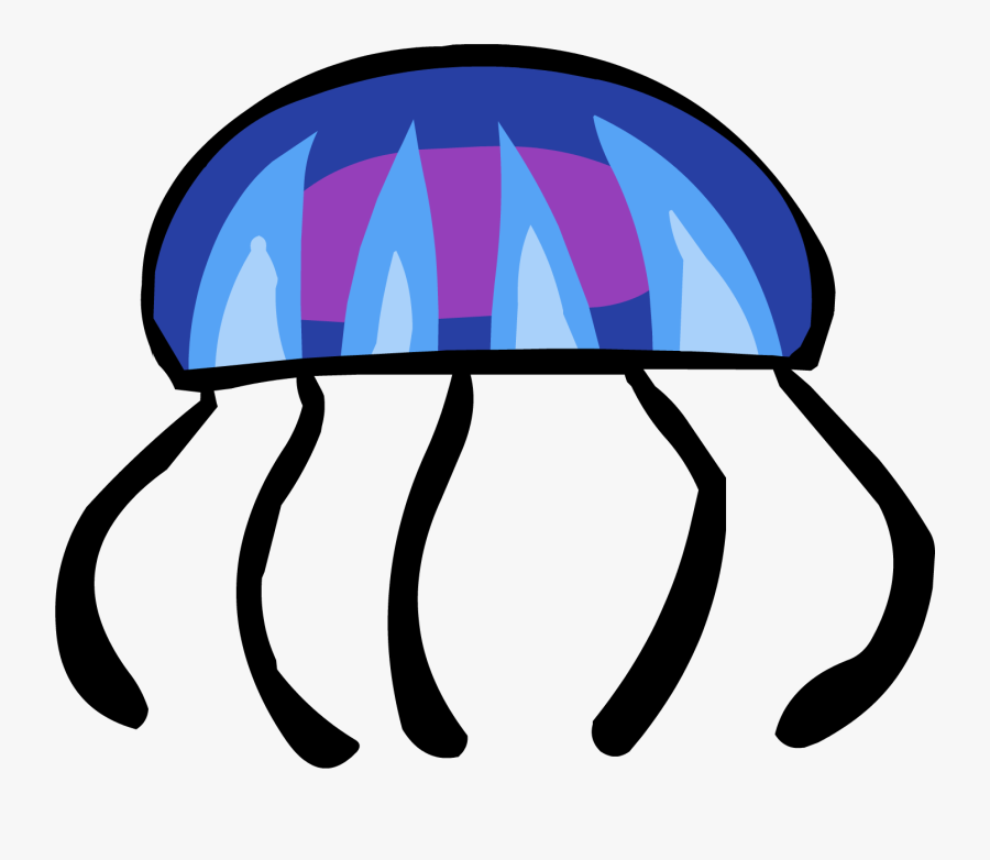 Club Penguin Wiki - Club Penguin Fishing Game Jelly Fish, Transparent Clipart