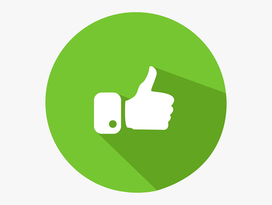 Green,finger,clip - Thumbs Up Green Png, Transparent Clipart