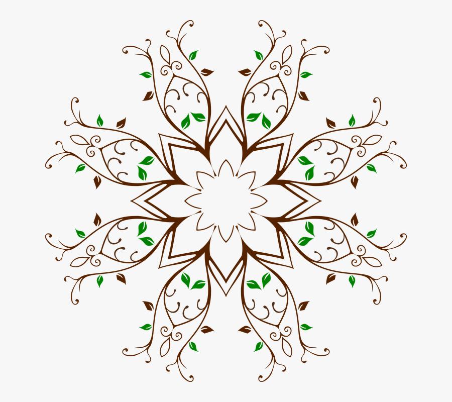 Transparent Vines Vector Png - Flower Color Green Clipart, Transparent Clipart