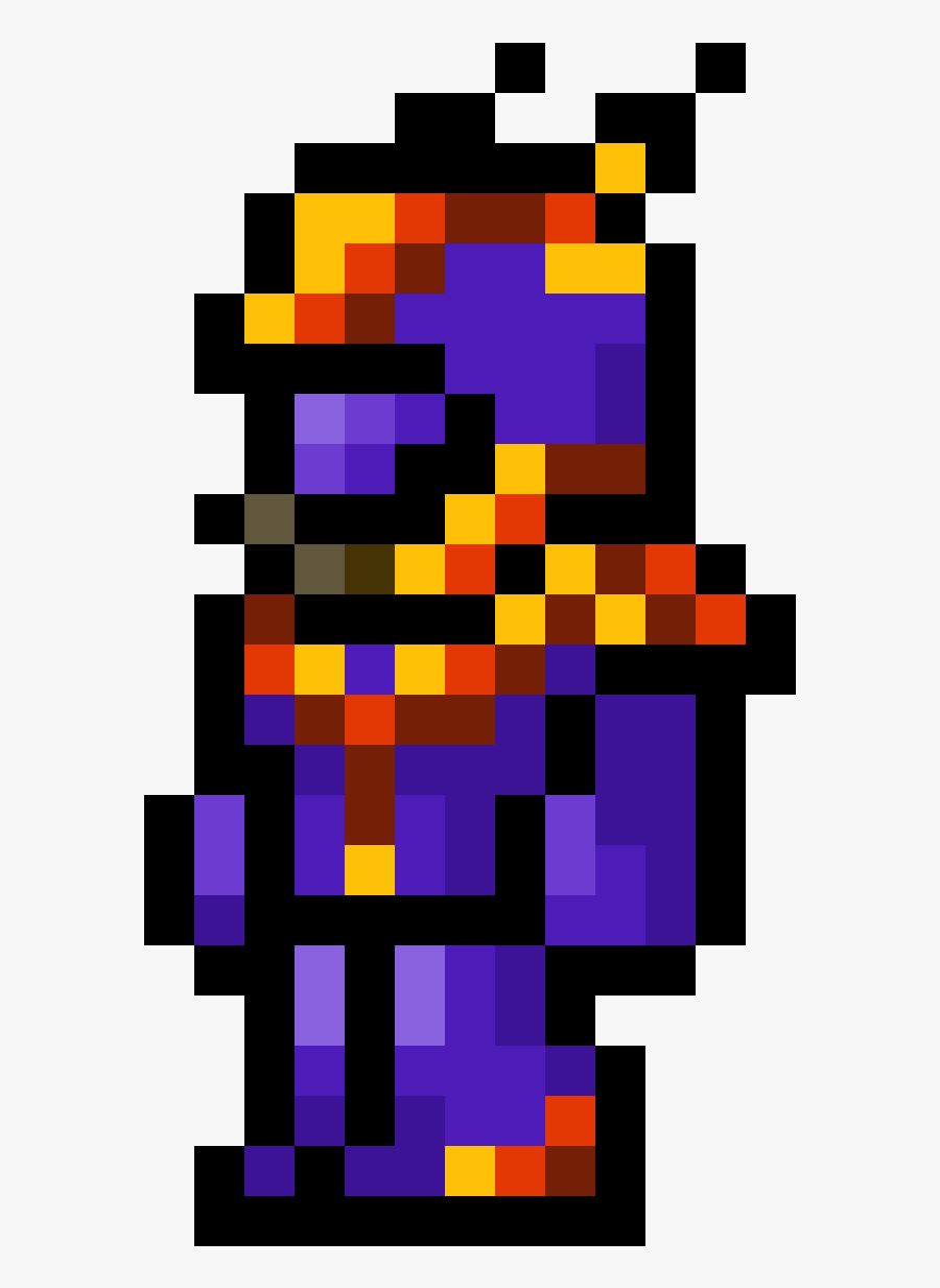 Terraria Armor Pixel Art Png Download Minecraft Pack Png