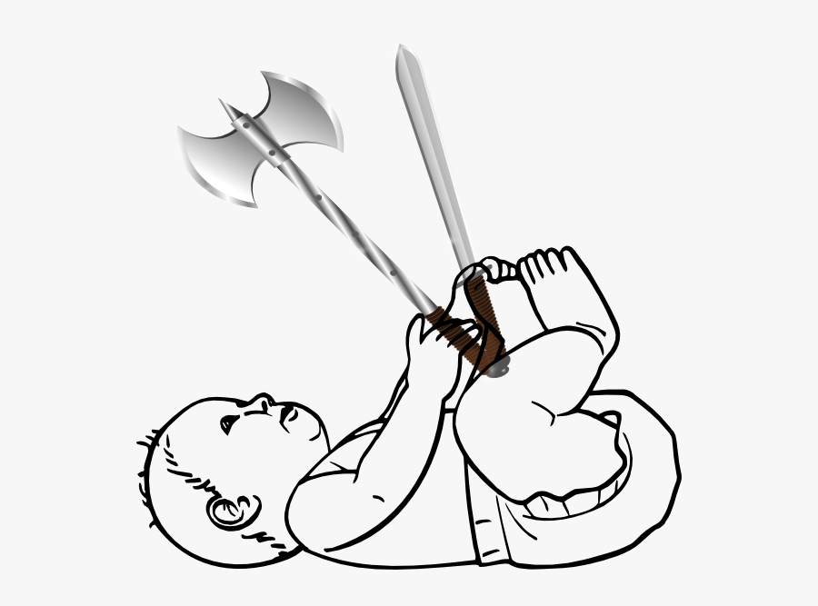 Human Baby Coloring Pages, Transparent Clipart