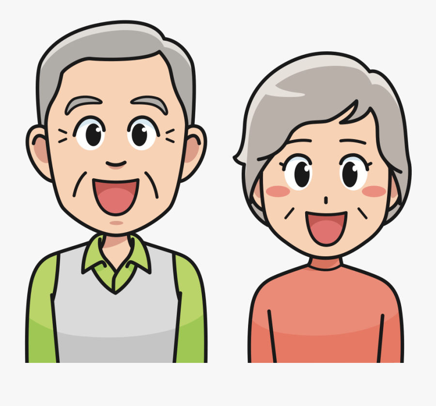 Happy Couple - Png Clipart Grandfather Png, Transparent Clipart