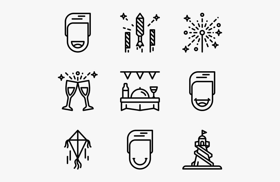 Happiness - Icono De Higiene Personal, Transparent Clipart