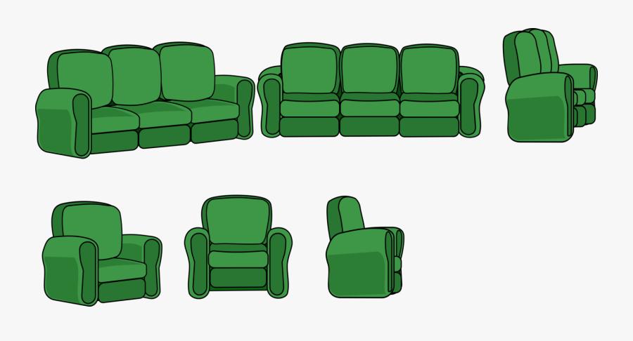 Grass,angle,area - Cartoon Living Room Chair, Transparent Clipart