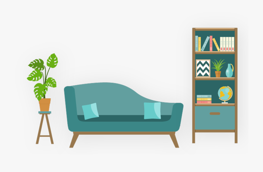 Living Room , Png Download - Living Room Home Clipart, Transparent Clipart