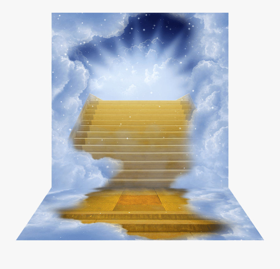 Clipart Resolution 1000*1000 - Gold Stairway To Heaven, Transparent Clipart