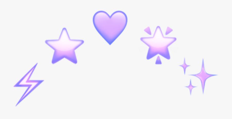 Aesthetic Transparent Emoji Crown, Transparent Clipart