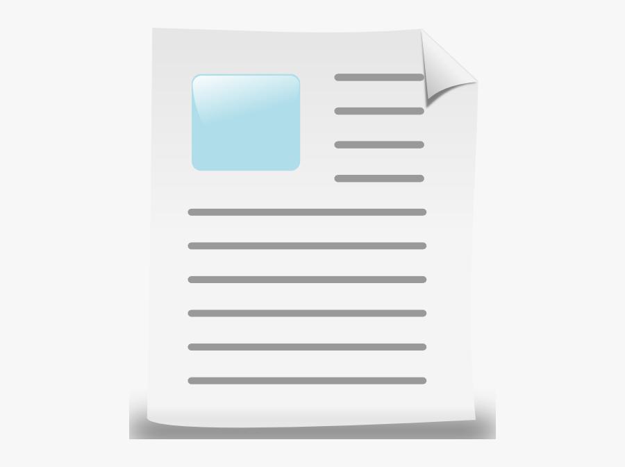 Document - Document Clip Art, Transparent Clipart