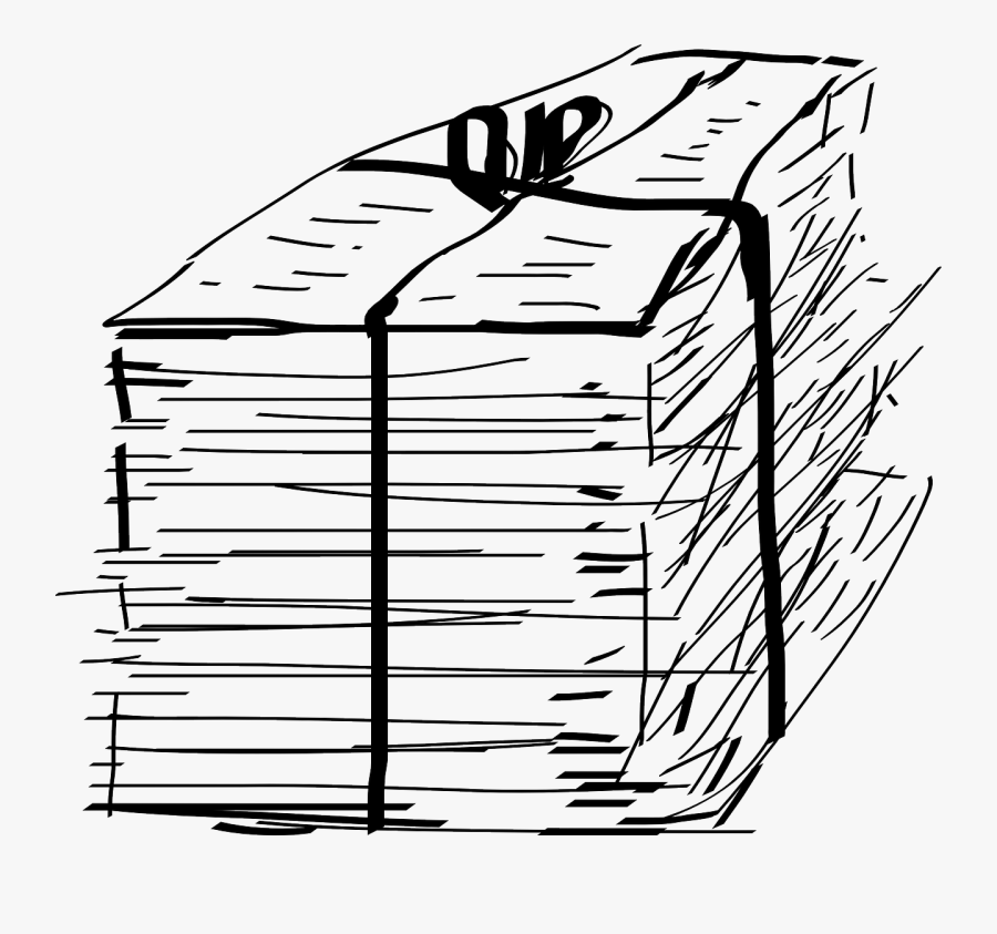Staple Document Pile Free Picture - Paper Documents Clipart, Transparent Clipart