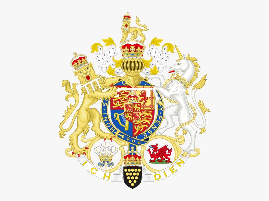 Royal Coat Of Arms, Transparent Clipart