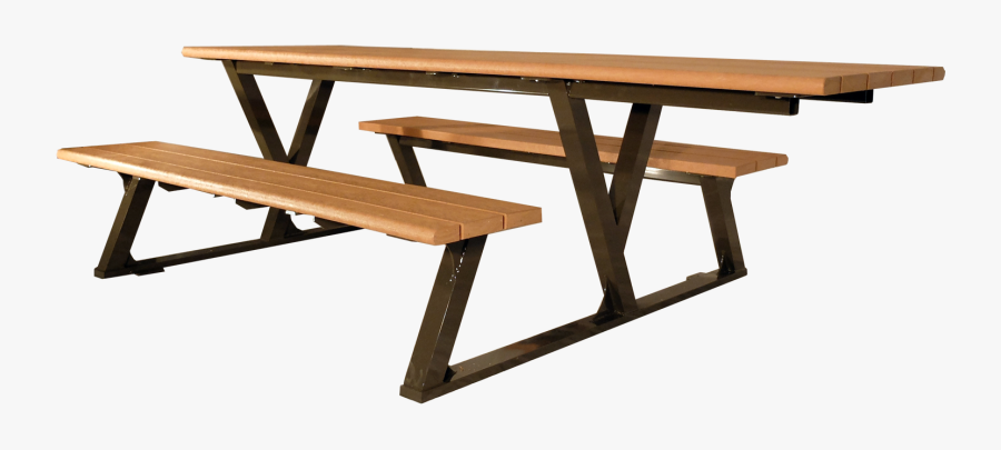 Bayview Picnic Table - Outdoor Bench, Transparent Clipart