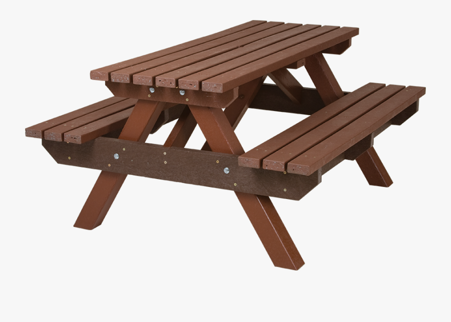 Standard Picnic Bench - Table And Bench Png, Transparent Clipart