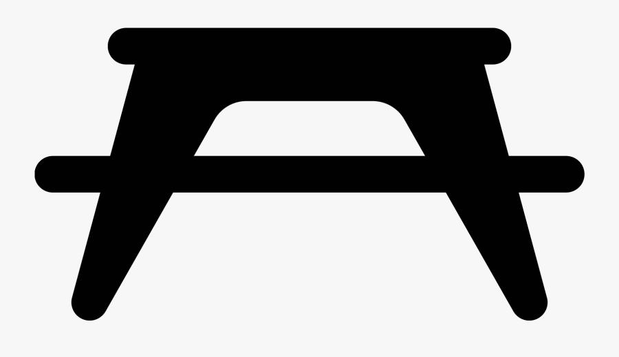 Picnic Table Png - Cross, Transparent Clipart