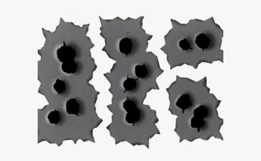 Bullet Hole Clipart Transparent Background - Bullet Hole, Transparent Clipart
