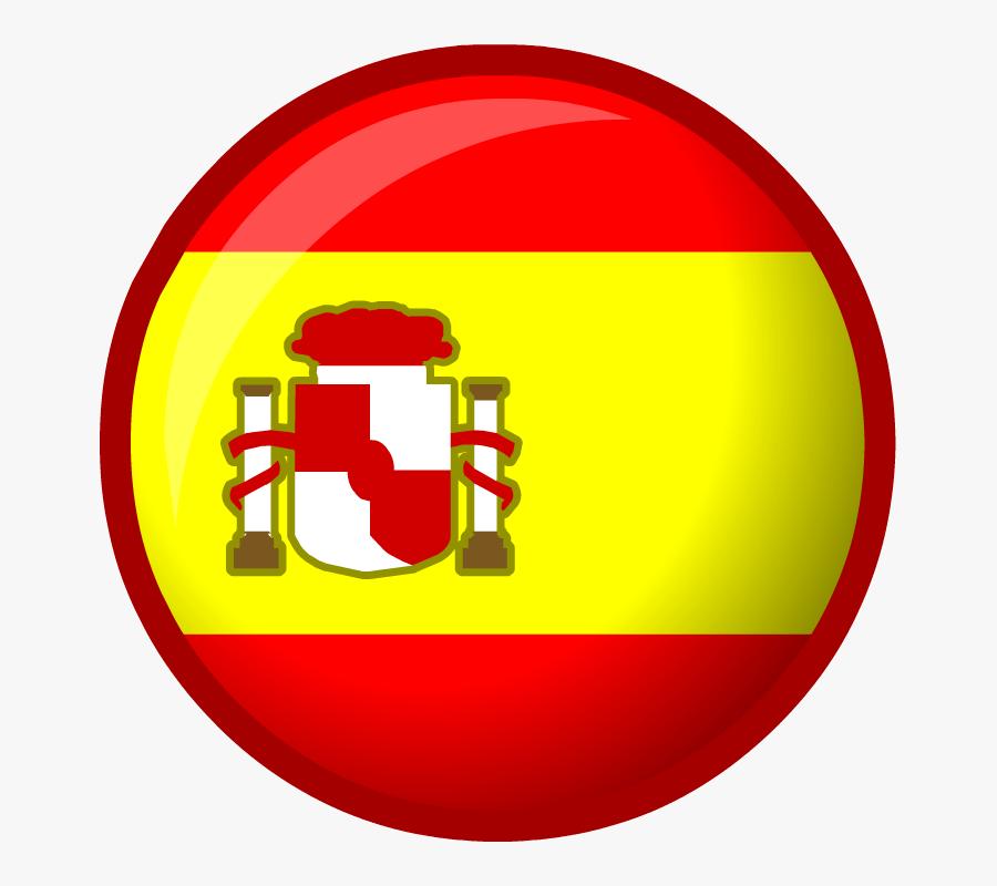 Spain National Football Team - Spain Flag Circular Png, Transparent Clipart