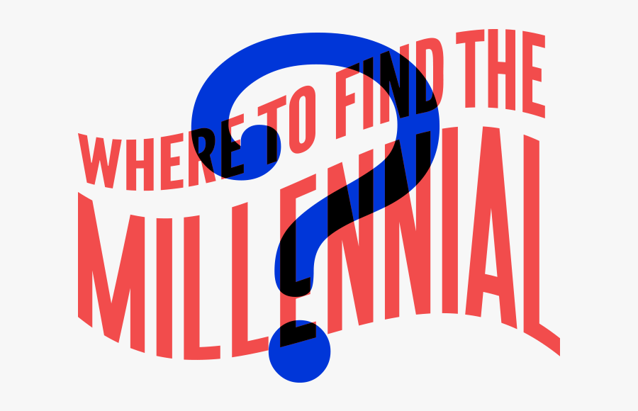 Wheres The Millennial Header - Graphic Design, Transparent Clipart
