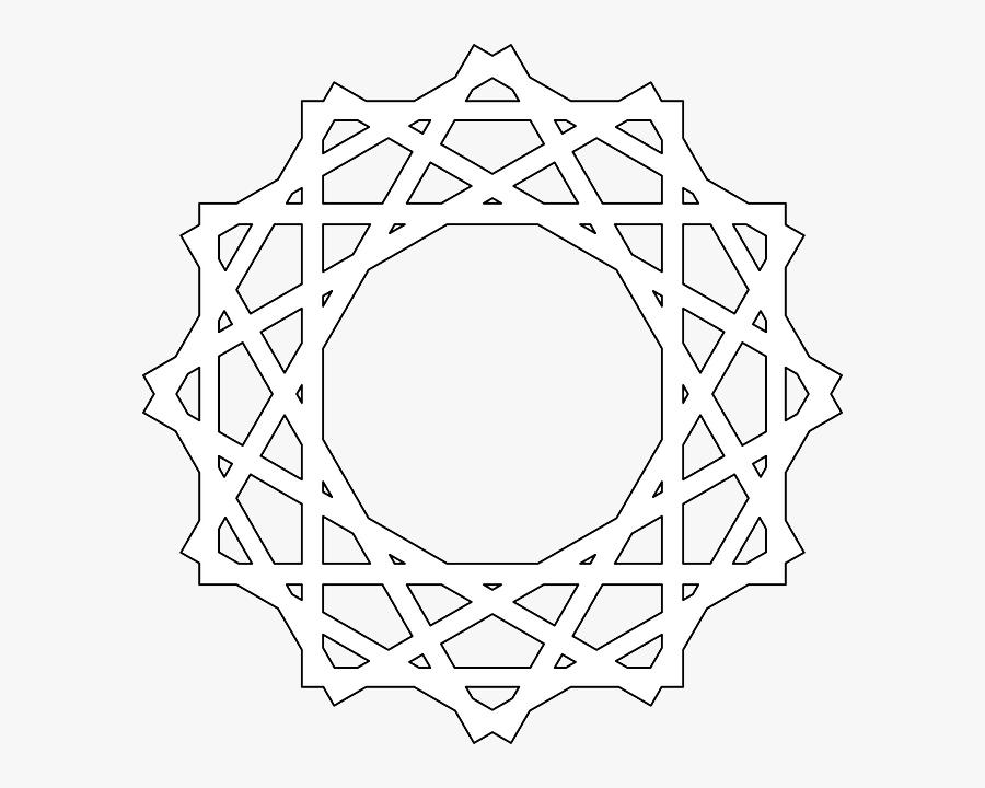Vector Islamic Shape Png, Transparent Clipart