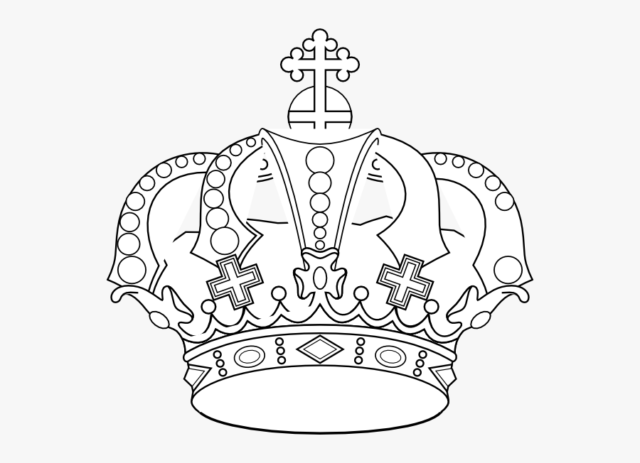Queen Victorias Crown Drawing, Transparent Clipart