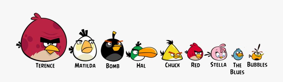 Angry Birds Toons Birds, Transparent Clipart