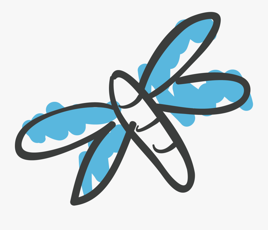 Dragonfly Clipart Creative, Transparent Clipart