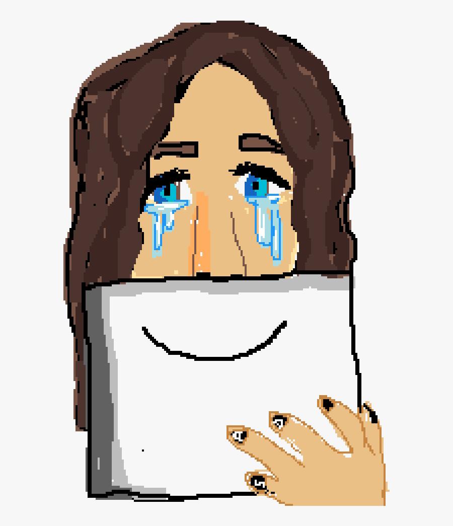 Depressed Person Animation, Transparent Clipart