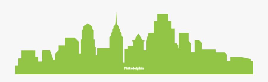 Philadelphia International Airport New York City Weather - Philadelphia Skyline Transparent Background, Transparent Clipart