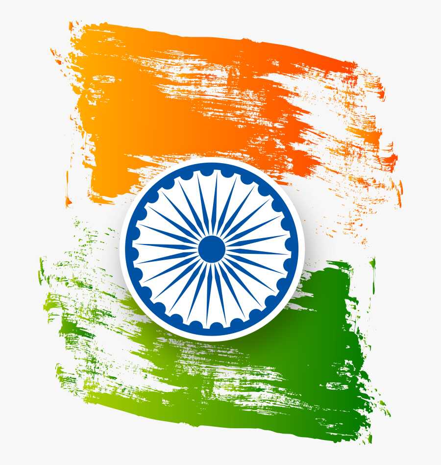 Independence Day India Flag, Transparent Clipart
