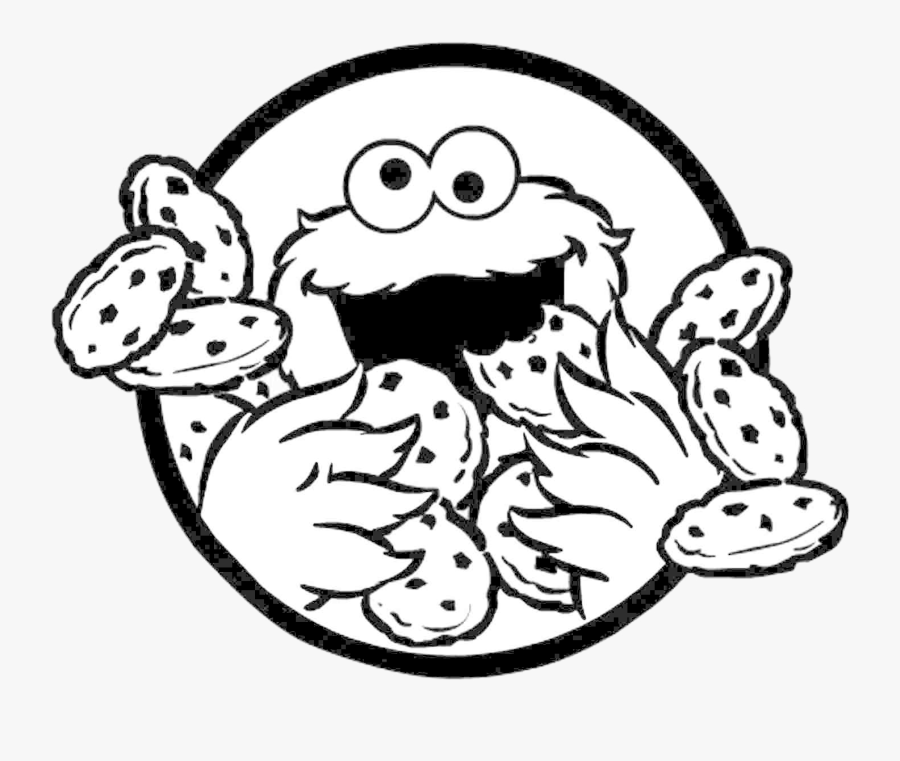 Cookie Monster Clipart X Transparent Png Cookie Monster Colouring Pages Free Transparent Clipart Clipartkey