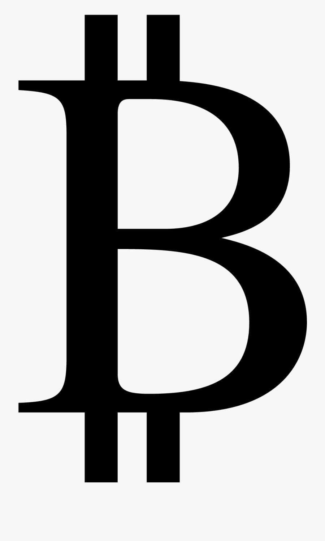 Black Dollar Sign - Bitcoin Currency Symbol, Transparent Clipart