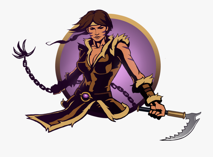 Shadow Fight 2 Widow Bodyguards Clipart , Png Download - All Female Characters In Shadow Fight 2, Transparent Clipart