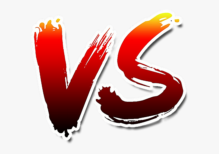 #vs #fight #lucha #versus - Transparent Background Vs Png, Transparent Clipart
