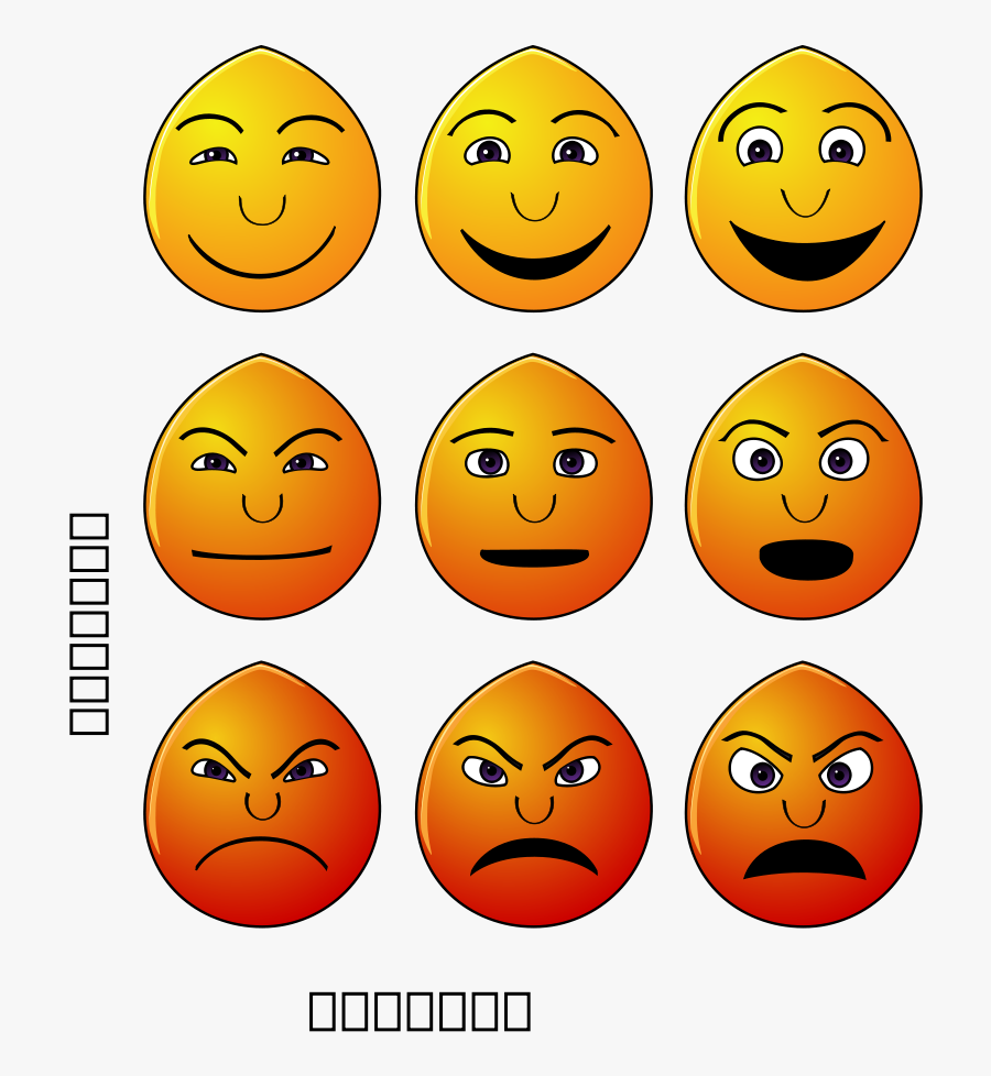 Emotions Svg Clip Arts - Understanding Emotion, Transparent Clipart