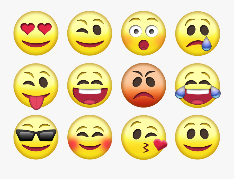 New Emotional Intelligence Test Can Predict Employee's - Emoji Honor 9 Lite, Transparent Clipart