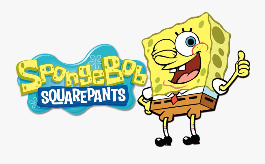Spongebob Squarepants Image - Nickelodeon Spongebob Squarepants Logo, Transparent Clipart